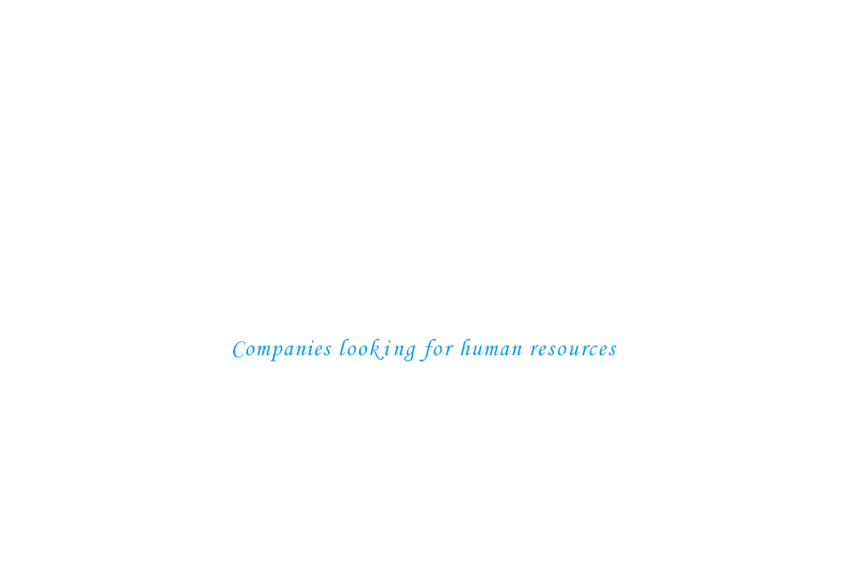 Companies looking for human resources